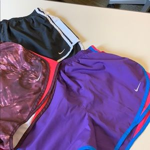 Lined Nike Running Shorts